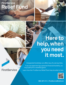 Relief Fund Awareness Flyer